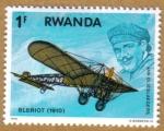Stamps Africa - Rwanda -  BLERIOT (1910) Jan Olieslaegers