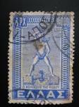 Stamps Greece -  Coloso de Rodas