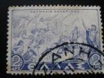 Stamps Europe - Greece -  Batalla de Salamis