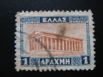 Stamps Europe - Greece -  Templo de Hephaestus