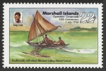 Stamps of the world : Marshall Islands :  ISLAS MARSHALL - Atolón de Bikini