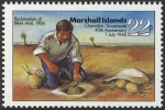 Stamps Oceania - Marshall Islands -  ISLAS MARSHALL - Atolón de Bikini
