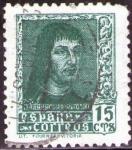Sellos de Europa - España -  ESPAÑA 1938 841 Sello º Fernando El Catolico 15c
