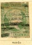Stamps Spain -  Isabel II Ed 1855