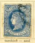Stamps Europe - Spain -  Isabel II Ed 1866