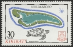Stamps Oceania - Kiribati -  KIRIBATI - Área protegida de las Islas Fénix