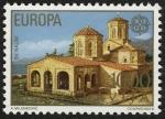Sellos de Europa - Yugoslavia -  Macedonia - Patrimonio natural y cultural de la región de Ohrid