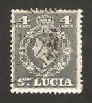 Stamps America - Saint Lucia -  elizabeth II