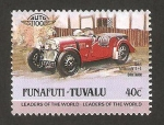 Stamps Oceania - Tuvalu -  vehículo morgan ingles de 1948
