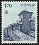 Stamps San Marino -  SAN MARINO - Centro histórico de San Marino y Monte Titano