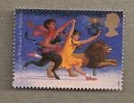 Stamps United Kingdom -  Mundo mágico
