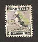 Stamps Europe - Lundy -  fauna, frailecillo