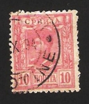 Stamps Europe - Serbia -  Rey Alexandre I Obrenovich