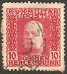 Stamps : Europe : Bosnia_Herzegovina :  Emperador Francisco José 1º