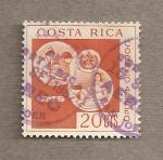Sellos de America - Costa Rica -  Organización Mundial de la Salud
