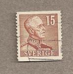Sellos de Europa - Suecia -  Rey Gustavo Adolfo VI