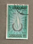 Stamps Jordan -  Año de los derechos humanos