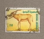 Stamps Tunisia -  Antílope Oryx