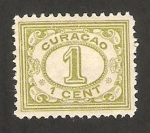 Stamps America - Curaçao -  cifra