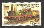 Stamps Africa - Djibouti -  ferrocarril