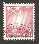 Stamps Greenland -  cielo