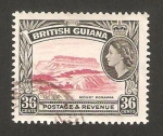 Stamps America - Guyana -  elizabeth II, monte roraima