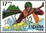 Sellos de Europa - España -  ESPAÑA 1985 2785 Sello Nuevo Fiestas Populares Españolas Descenso Rio Sella Arriondas Ribadesella Es