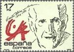 Sellos de Europa - España -  España 1985 2808 Sello ** Personajes Vicente Aleixandre Timbre Espagne Spain Spagna