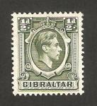 Stamps Europe - Gibraltar -  george VI