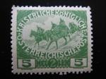 Stamps Europe - Austria -  Caballeria