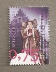 Sellos de Europa - Bélgica -  Hospital Nuestra Señora de la Rosa