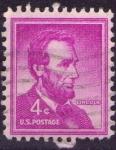 Sellos de America - Estados Unidos -  Lincoln
