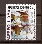 Sellos de America - Honduras -  EUMOMOTA  SUPERCILIOSA