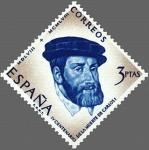 Sellos de Europa - España -  ESPAÑA 1958 1231 Sello Nuevo Cent. Muerte Carlos I España V Alemania 3pts Espana Spain Espagne Spagn
