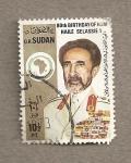 Stamps Africa - Sudan -  80 umpleaños Haile Selassie