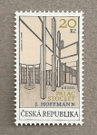 Stamps Europe - Czech Republic -  J. Hoffmann ,Stoclet