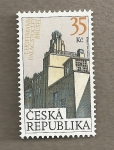 Stamps Europe - Czech Republic -  J. Hoffmann Palacio Stoclet