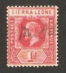 Stamps : Africa : Sierra_Leone :  George V