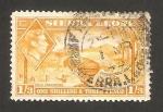 Stamps Africa - Sierra Leone -  george VI, recogiendo el arroz