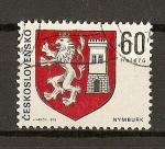 Stamps Czechoslovakia -  Escudos /Nymburg