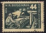 Stamps Europe - Bulgaria -  Minero trabajando
