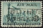 Stamps United States -  Paisaje