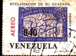 Stamps : America : Venezuela :  reclamacion guayana