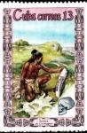 Stamps Cuba -  hombre de crogmanong