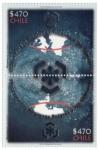 Stamps : America : Chile :  Regiones polares