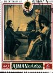 Stamps Azerbaijan -  conmemoracion Bethoven