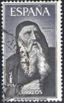 Stamps Spain -  ESPAÑA 1963 1536 Sello Personajes Españoles Raimundo Lulio usado Espana Spain Espagne Spagna Spanje