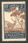 Sellos del Mundo : Oceania : Nueva_Caledonia : 26 - fauna, ciervo