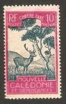 Stamps Oceania - New Caledonia -  29 - fauna, ciervo