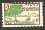 Stamps Oceania - New Caledonia -  bahía de paletuviers